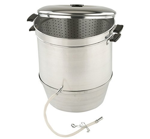 Back to Basics Aluminum Steam Juicer - A12 by Back to Basics Back To Basics Steam Juicer