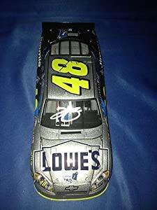 JIMMIE JOHNSON SIGNED Auto 2011 LOWE