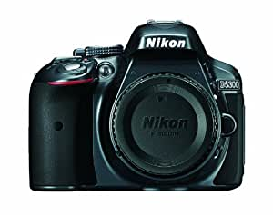Nikon D5300 24.2 MP CMOS Digital SLR Camera with Built-in Wi-Fi and GPS Body Only (Grey)