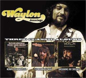 WAYLON JENNINGS - Honky Tonk Heroes/Ramblin