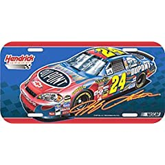 Jeff Gordon NASCAR License Plate by Caseys