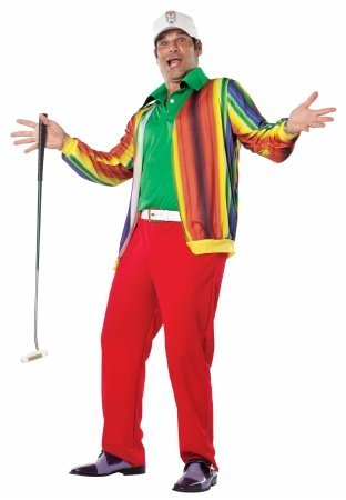 Caddyshack - Al Cervik Adult Costume (As Shown;Large/X-Large)