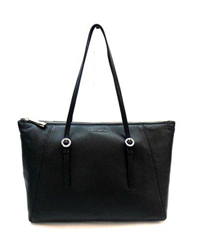 Coccinelle-Mel-Shopper-Tasche-Leder-33-cm-nero