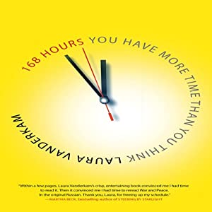 168 Hours: You Have More Time Than You Think | [Laura Vanderkam]
