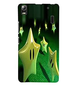 ColourCraft Funny Star Design Back Case Cover for LENOVO A7000