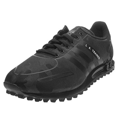 Adidas La Trainer Wv Scarpe da Ginnastica, Uomo, Nero (Cblack/Cblack/Ftwwht), 43 1/3