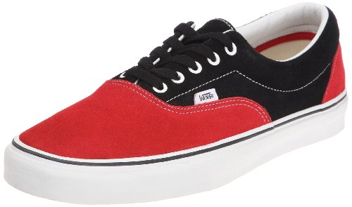 Vans Unisex-Adult Era Black/Red Trainer VQFK62A 10.5 UK
