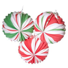 Peppermint Candy Lantern Decoration