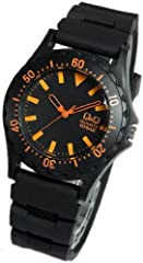 [シチズン]CITIZEN Q&Q 腕時計 メンズ レディース カラーウォッチ ウレタンベルト VP02-901 [国内正規品]