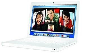 "Apple MacBook MA254LL/A 13.3"" Laptop (1.83 GHz Intel Core Duo, 512 MB RAM, 60 GB Hard Drive, DVD-ROM/CD-RW Drive)- White"