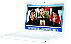 "Apple MacBook MA254LL/A 13.3"" Laptop (1.83 GHz Intel Core Duo, 512 MB RAM, 60 GB Hard Drive, DVD-ROM/CD-RW Drive)- White"