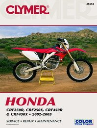 Yamaha Single Engine Motorcycle Repair Manuals - Choose Your Model, YZ125-250 (85-87') & WR250Z (85-90')