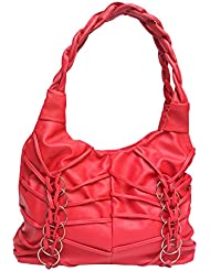 Vintage Stylish Ladies Handbag Pink(bag 177)