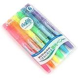 Pilot FriXion Light Fluorescent Ink Erasable Highlighter Pen - 6 Color Set