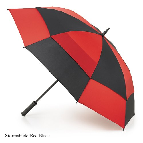 フルトン アンブレラ メンズ 傘 Stormshield ストームシールド レッド fultons669redblack
