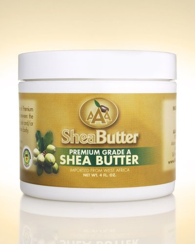 100% Unrefined Certified Grade A Shea Butter