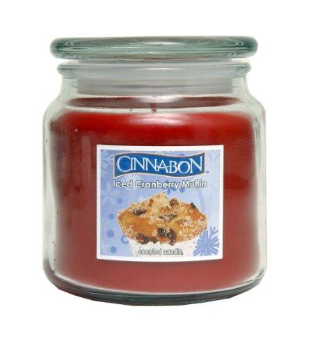 Cinnabon By Hanna's Iced Cranberry Muffin 14.5oz Soy Candle