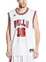 adidas Camiseta sin mangas Int Jersey 16 Bulls (Blanco / Rojo / Negro)