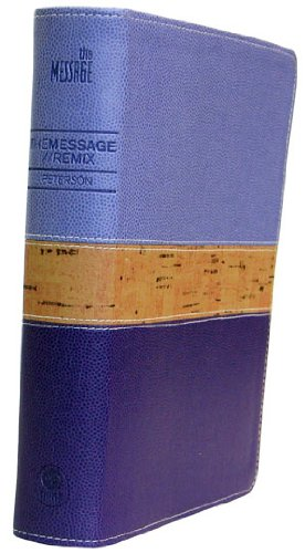 The Message//REMIX 2.0 Purple/Cork Leather-Look