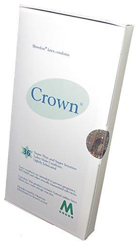Crown Skinless Skin Preservativi - Il Più Sottile In Lattice Preservativi (36 pezzi)