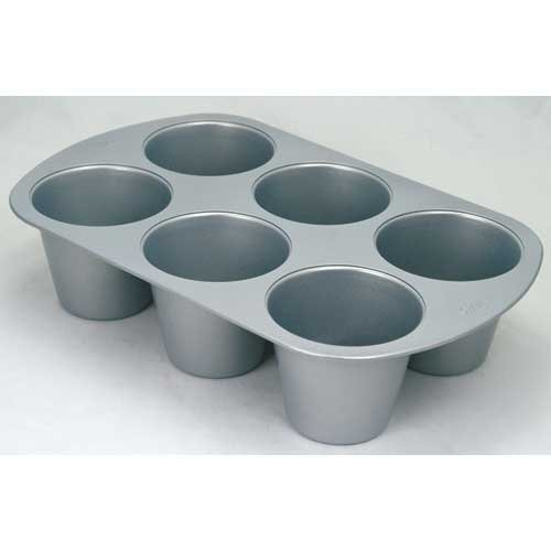 Cupcake Pan Sizes Wilton Non Stick Mega Muffin And
