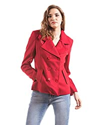 Prym Women's Jacket (1011512902_Red_Small)