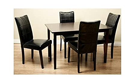 Eveleen Dining Furniture Set in Black