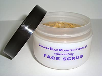 Jamaica Blue Mountain Coffee Face Scrub