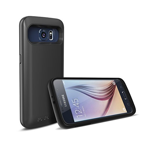 Mota 3400mAh Charger Case Power Bank (For Samsung Galaxy S6) - Black