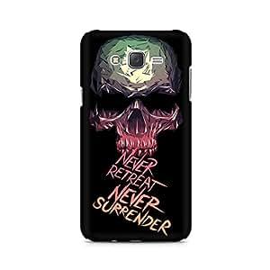 Mobicture Skull Premium Printed Case For Samsung J1
