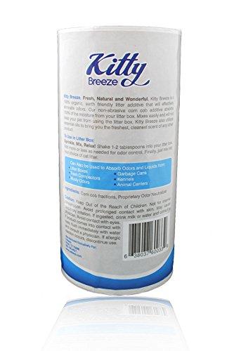 Cat litter box odor absorbing gel