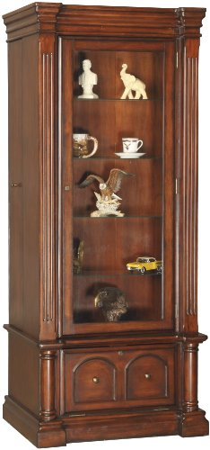 8 - Gun Curio Slider Cabinet Combo by American Furniture Classics
