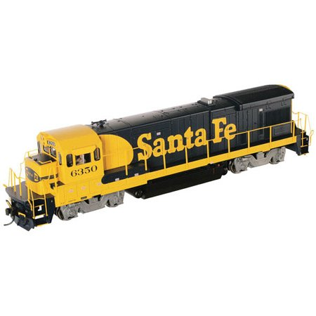 Atlas Santa Fe #6372, Low Nose B23-7, HO Scale Locomotive