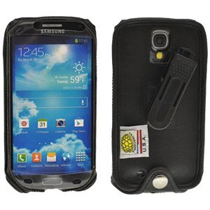 Samsung Galaxy S 4 Turtleback Executive Leather Case With Plastic Clip