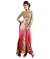 Styliner Colorful Unstitched Salwar Suit(KE-AR1-01L,purple)
