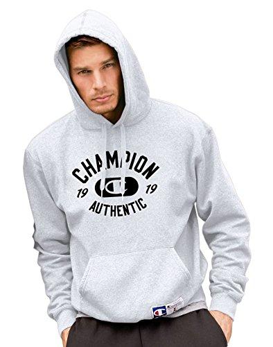 Champion Men's Retro Graphic Pullover Hoodie, Black, XX-Large (Champion Heavyweight Socks compare prices)