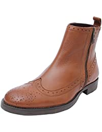 Salt N Pepper 16-392 Ray Tan Leather Boots