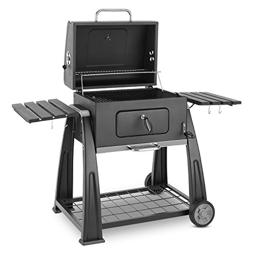 klarstein bigfoot grill holzkohlegrill smoker bbq grill. Black Bedroom Furniture Sets. Home Design Ideas