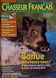 CHASSEUR FRANCAIS (LE) [No 1245] du 01/11/2000 - battue, ameliorez-vous jardin , les meilleures protections contre le froid peche, gros carnassiers dernieres carpes, bonnes tactiques