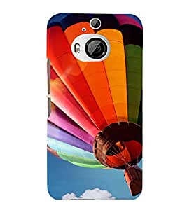 printtech Hot Air Balloon Colored Back Case Cover for HTC One M9+::HTC One M9 Plus