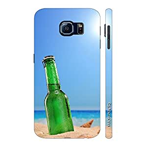 Enthopia Designer Hardshell Case Some Beer on the Beach Back Cover for Samsung Galaxy S7 Plus