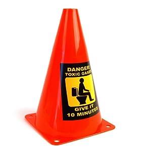 Toilet Caution Cone