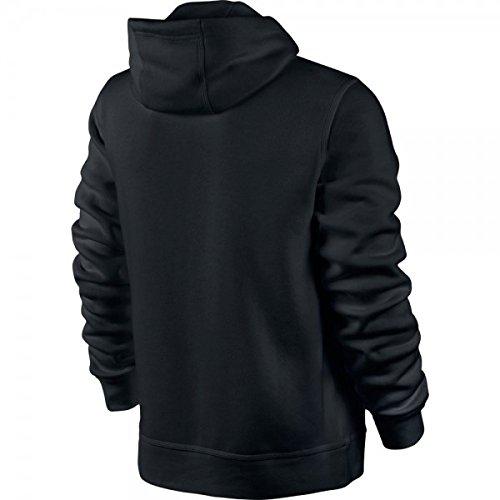 Men's Nike Sportswear Hoodie Black/White Size XX-Large