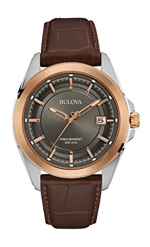 bulova-mens-98b267-stainless-steel-dress-watch-with-brown-leather-band