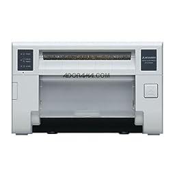 Mitsubishi CP-D70DW Single-Deck Compact Digital Dye Sublimation Thermal Photo Printer, 6x8\