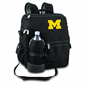 NCAA Michigan Wolverines Turismo Insulated Backpack Cooler by Picnic Time