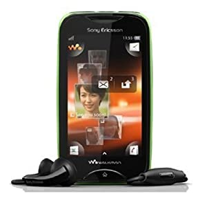 Sony Ericsson Mix Walkman WT13i (Black on Green)