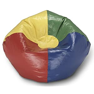 Ace Bayou Primary Round Bean Bag, Multi