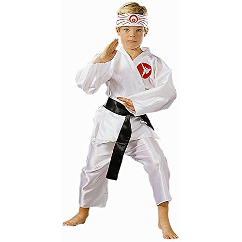 Kid's Karate Boy Halloween Costume (Size:Small 4-6)