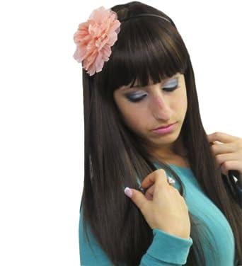 Soft Pink Spring Flower Hard Headband